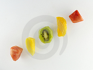 Fruit Segments Royalty Free Stock Photography - Image: 2453947