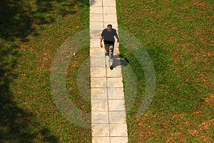 Man Walking Stock Photo - Image: 2457320