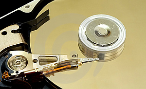 Hard Disk Drive Stock Photo - Image: 2457470