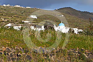 Santorini Island In The Cyclades Stock Photography - Image: 24501972