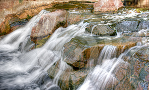 Slow Flowing Stream Royalty Free Stock Images - Image: 24503289
