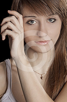 Portrait Of A Young Girl Stock Photography - Image: 24508602