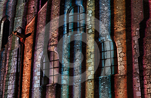 Chartres Illumination- Detail Stock Photography - Image: 24518202