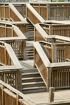 Wooden Stairs Stock Image - Image: 24530271