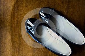 Black Shoes Stock Photos - Image: 24531873
