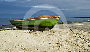 Old fishing boat Free Stock Photo