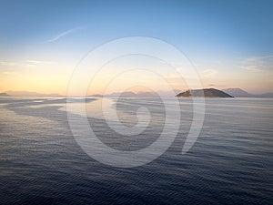 Mer Ionienne, Grèce Image libre de droits - Image: 24533956