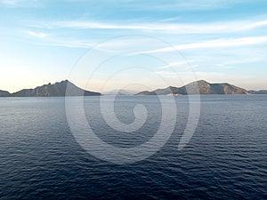 Ionian Sea, Greece Stock Image - Image: 24533971