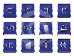 Button Set 2 Royalty Free Stock Image - Image: 24546026