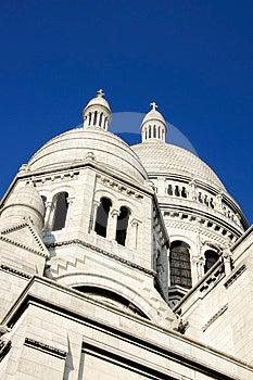 Sacre Coeur Basilica In Paris, France Royalty Free Stock Image - Image: 24547426