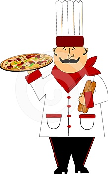 Master Pizza Chef Royalty Free Stock Photos - Image: 24549148