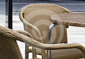 Chairs With Table Stock Photos - Image: 24552253