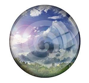 Crystal Ball Royalty Free Stock Photos - Image: 24553228