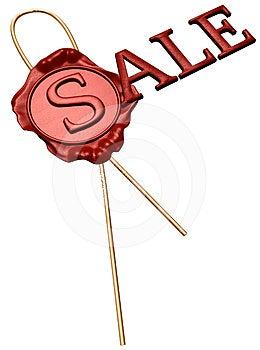 Sale Stamp Stock Photo - Image: 24565000