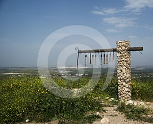 Excavations Park In Israel Stock Photo - Image: 24576790