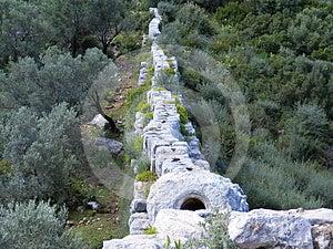 Roman Aquaduct Top Stock Photography - Image: 24579882