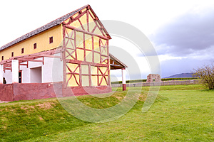 Wroxeter Replica Roman Villa Stock Photography - Image: 24580122