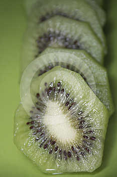 Slice Kiwi Royalty Free Stock Photos - Image: 24580348