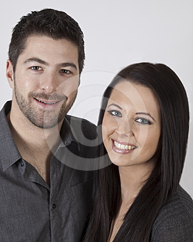 Handsome Couple Stock Image - Image: 24581831