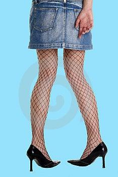 Mini Leg Stocking High Stock Photography - Image: 2467672
