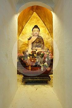 Image Of Buddha In Burmese Style Royalty Free Stock Photos - Image: 24608268