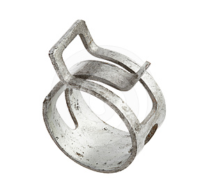 Hose Clamp Royalty Free Stock Photography - Image: 24609277