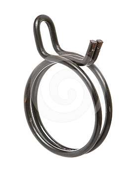 Hose Clamp Royalty Free Stock Images - Image: 24609289