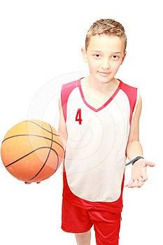 Boy Keeps The Ball Stock Photos - Image: 24609643