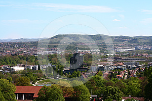 Top View Of A City Royalty Free Stock Photo - Image: 24610095