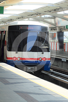 Sky Train Royalty Free Stock Photo - Image: 24610285