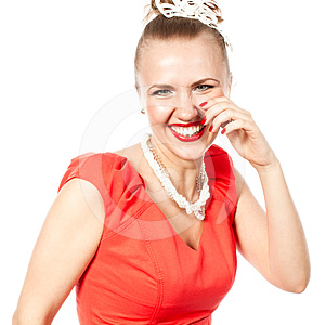 Smiling Beautiful Woman Stock Photography - Image: 24613992