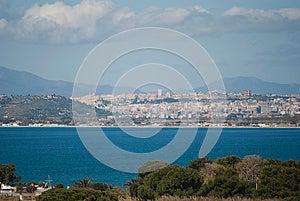 Cagliari Widok Zdjęcia Royalty Free - Obraz: 24622288