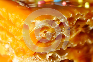 Waffles Cake With Caramel Royalty Free Stock Images - Image: 24623849