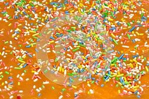 Sugar Spreading Pastry Decoration Stock Photo - Image: 24623870