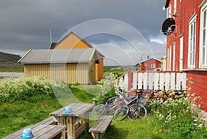 Summer View Of Hamningberg Royalty Free Stock Photos - Image: 24650748