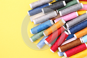 Spool Of Threads Stock Photo - Image: 24663290
