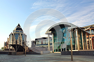 High-tech Style Building Stock Images - Image: 24663504
