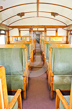 Old 2nd Class Wagon Cabin Royalty Free Stock Images - Image: 24663669