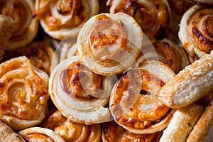 Savory Pastries Royalty Free Stock Image - Image: 24665176