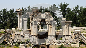 Old Summer Palace Royalty Free Stock Image - Image: 24680516