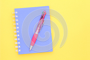 Note Book And Pen Royalty Free Stock Images - Image: 24690589