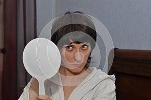 White Mirror Stock Photo - Image: 24692490