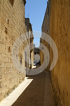 Mdina Street Royalty Free Stock Photo - Image: 24692715