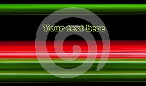 Abstract Green And Red Lines Royalty Free Stock Image - Image: 24698036