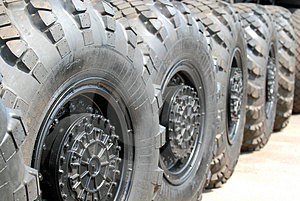 Automobile Wheels Royalty Free Stock Images - Image: 2473559
