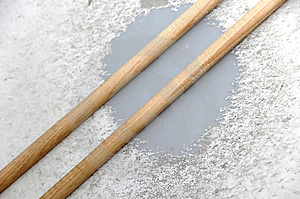 Snare And Sticks Royalty Free Stock Photo - Image: 2474695