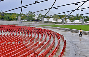 Red Chairs Royalty Free Stock Photos - Image: 2474748