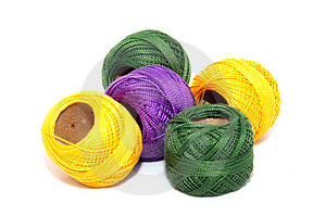 Rolls Of Ribbon Royalty Free Stock Photography - Image: 2475267