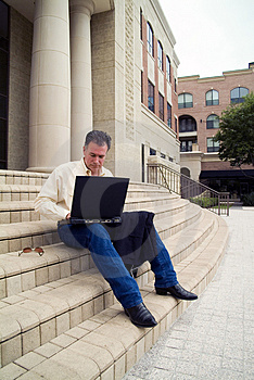 It's Too Nice To Work Inside Royalty Free Stock Image - Image: 2476836