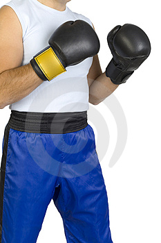 Boxer's body Stock Images